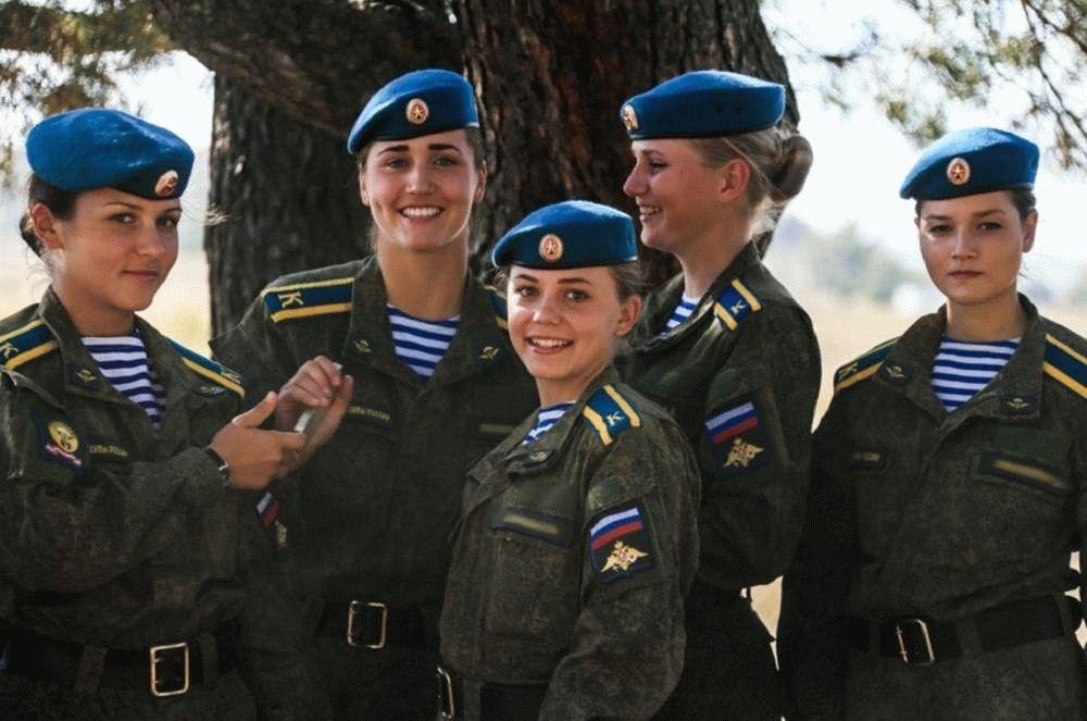 Девушки в армии россии по контракту